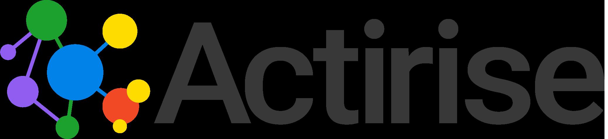 Actirise logo png