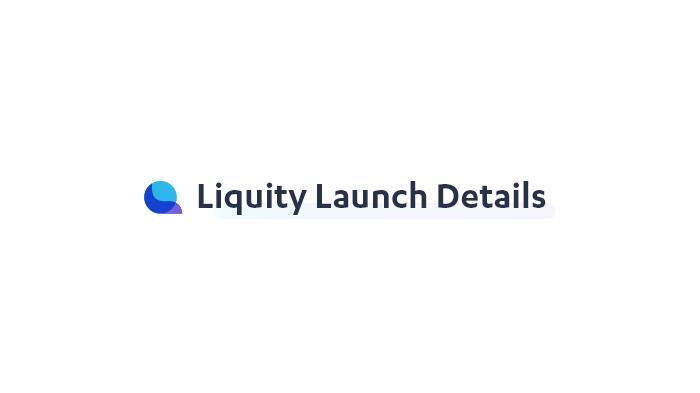 Liquity Launch Details