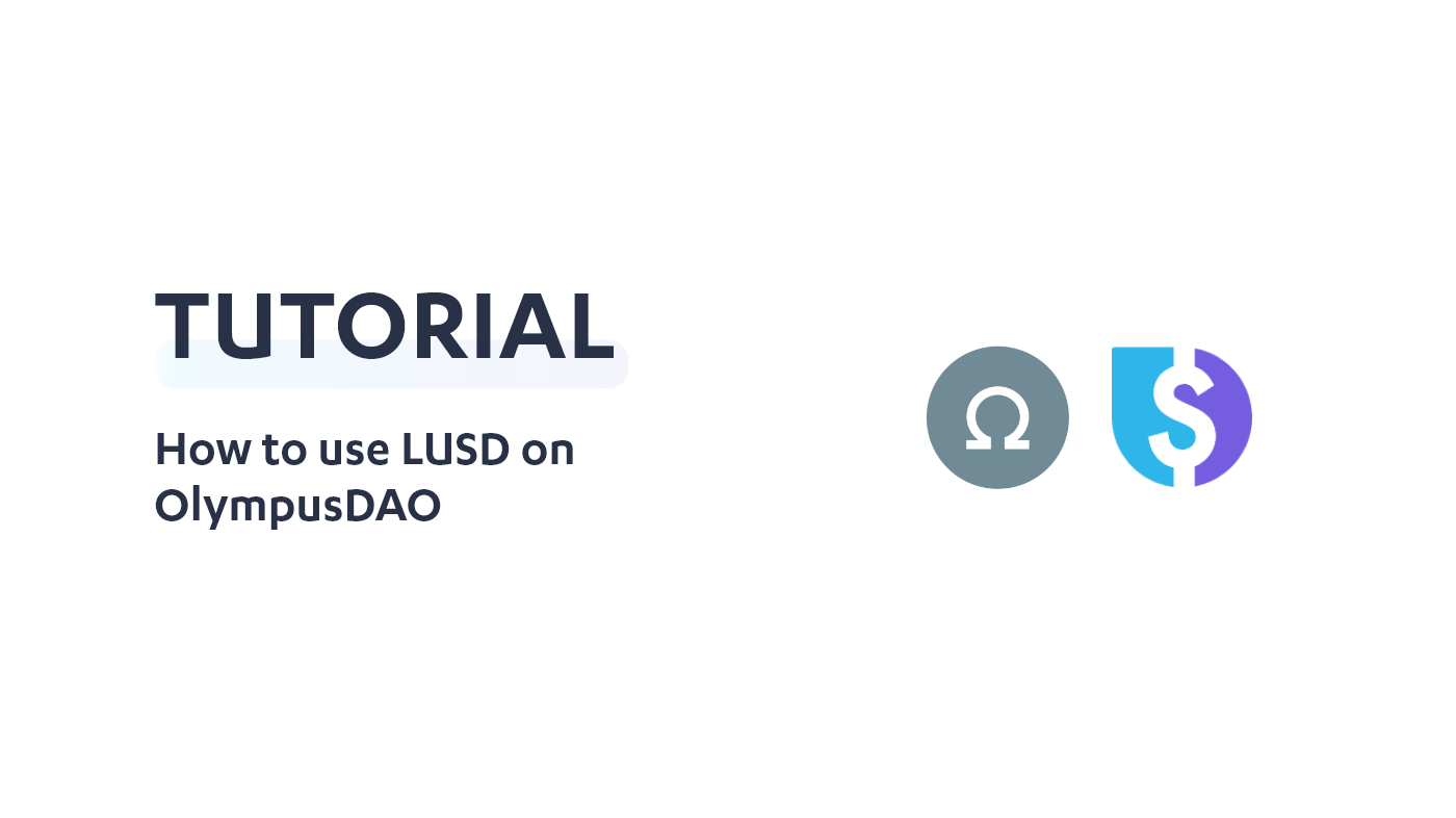 How to use LUSD on OlympusDAO