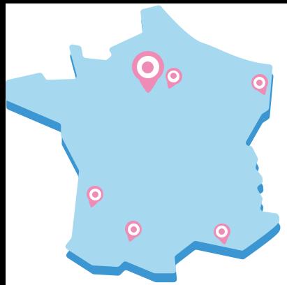 7 lieux Digital Village en France