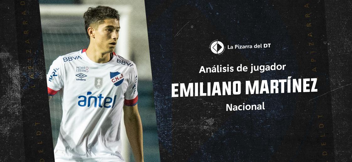 La elegancia de Emiliano Martínez
