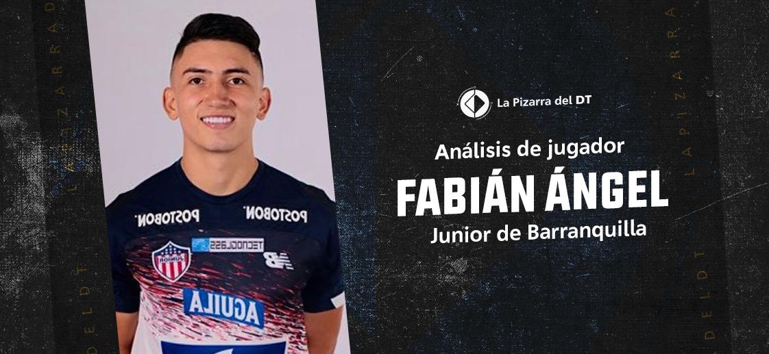 Fabián Ángel y su aporte al Junior de Luis Amaranto Perea