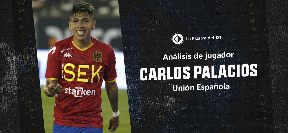 ¿Cómo juega Carlos Palacios?