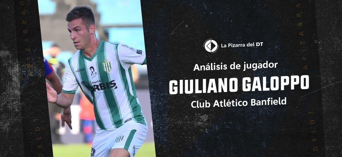 Giuliano Galoppo y el alma de delantero
