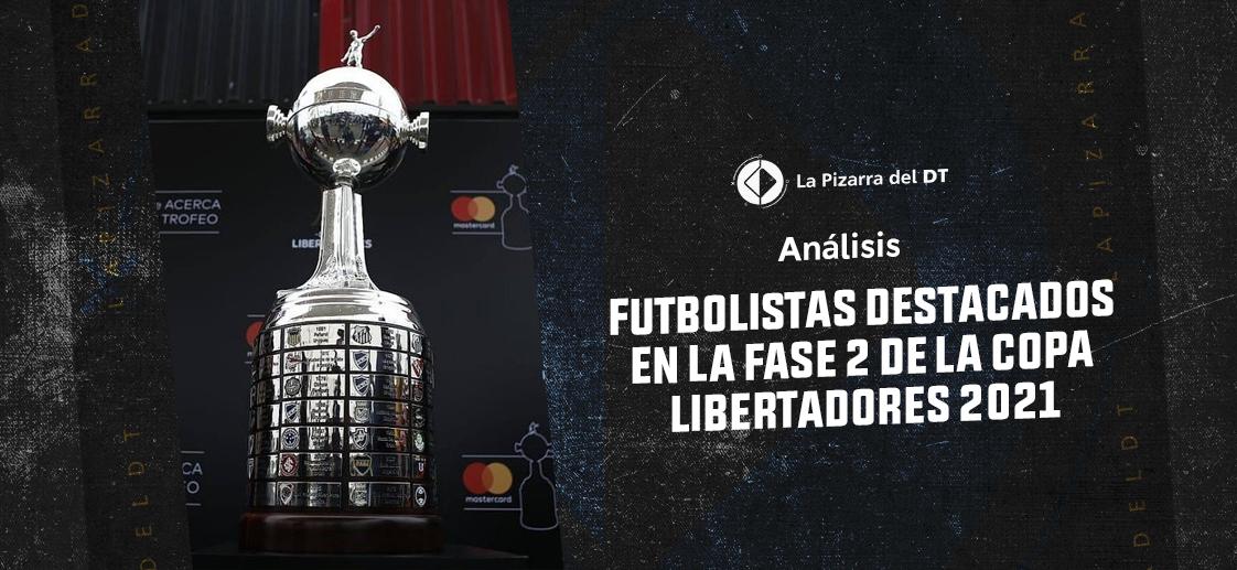 Veinte futbolistas destacados en la fase 2 de la Copa Libertadores 2021