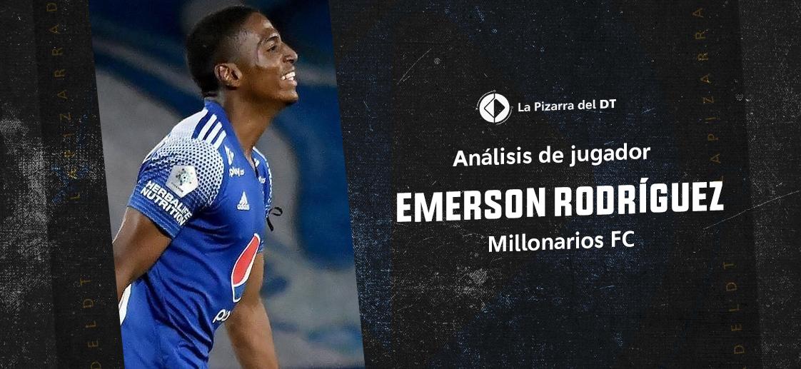 La capacidad de Emerson Rodríguez