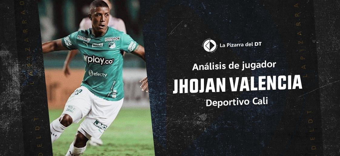Jhojan Valencia, un pasador de altura