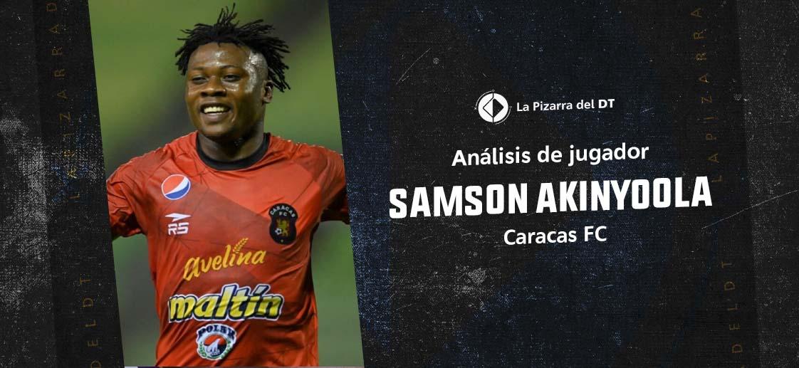 Samson Akinyoola, el toro africano del Caracas