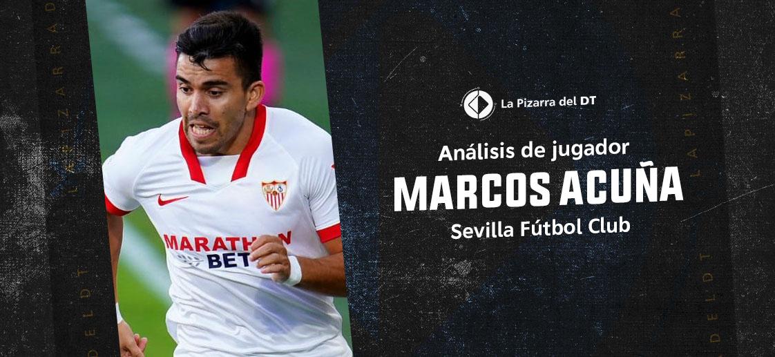 La evolución futbolística de Marcos Acuña