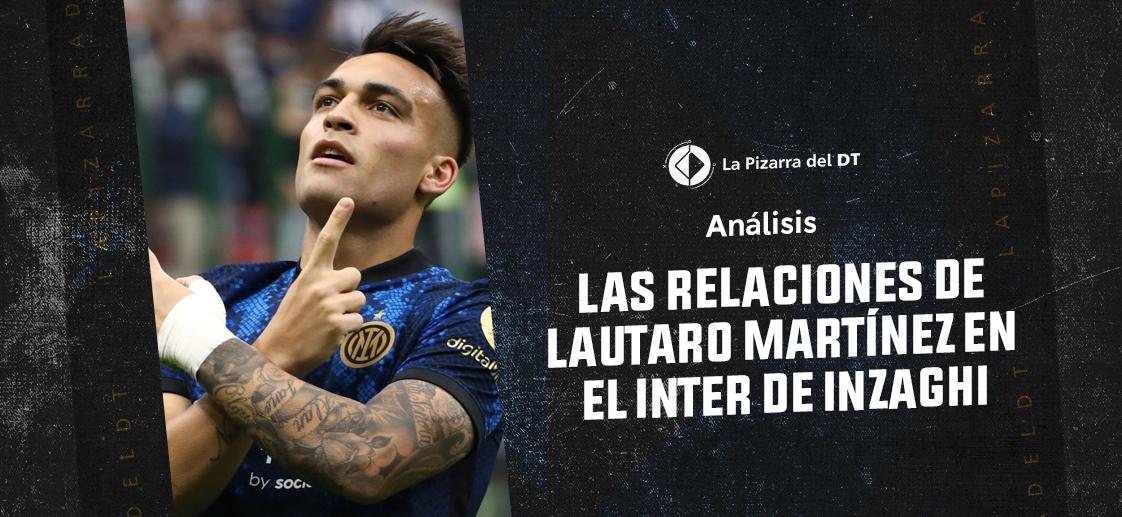 Las relaciones de Lautaro Martínez en el Inter de Inzaghi