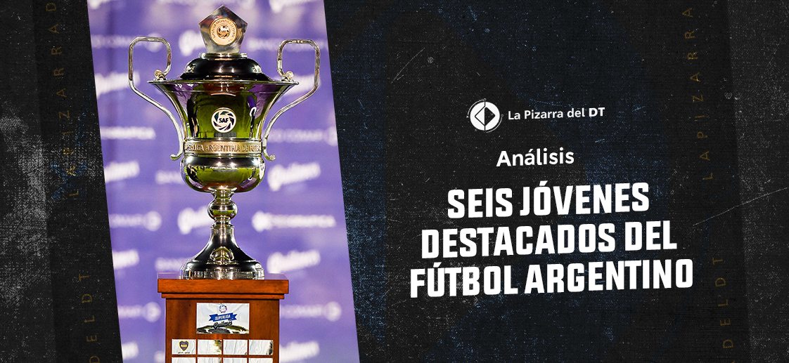 Seis jóvenes destacados del fútbol argentino