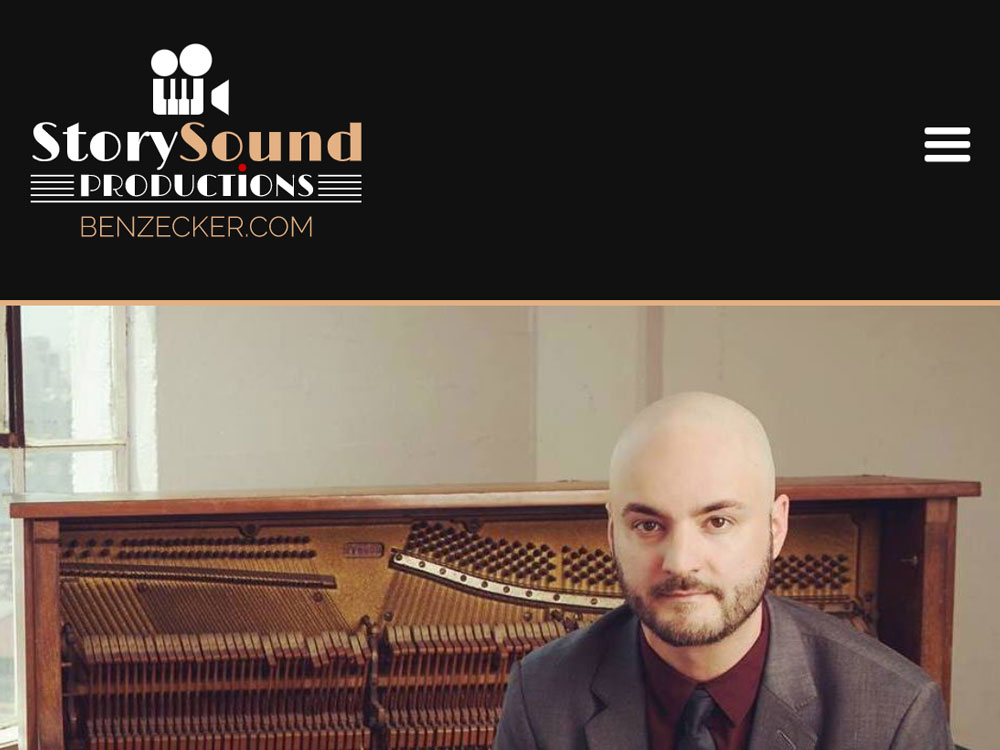 StorySound Mobile Home Page