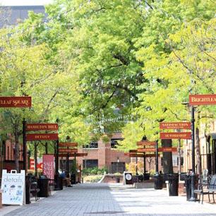Brightleaf Square in downtown Durham.