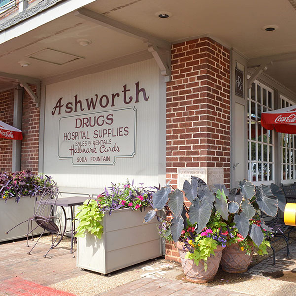Ashworth Drugs in downtown Cary.