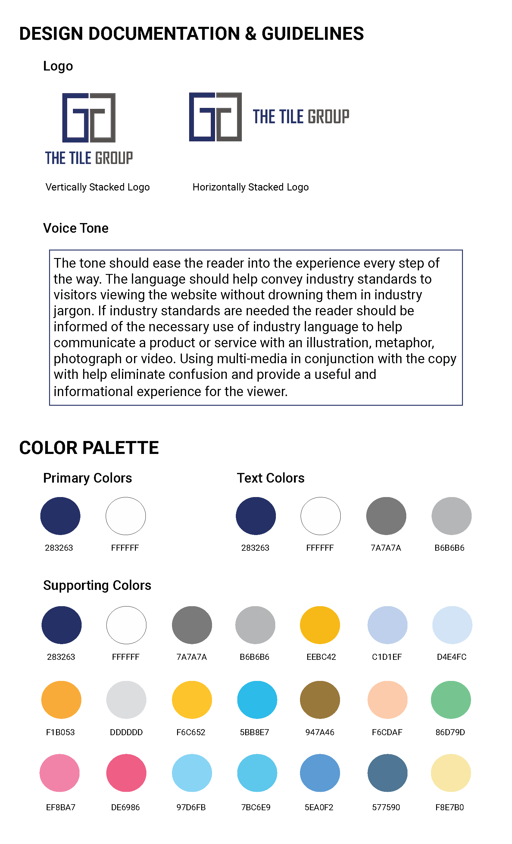 Design Documentations image 1 of 5