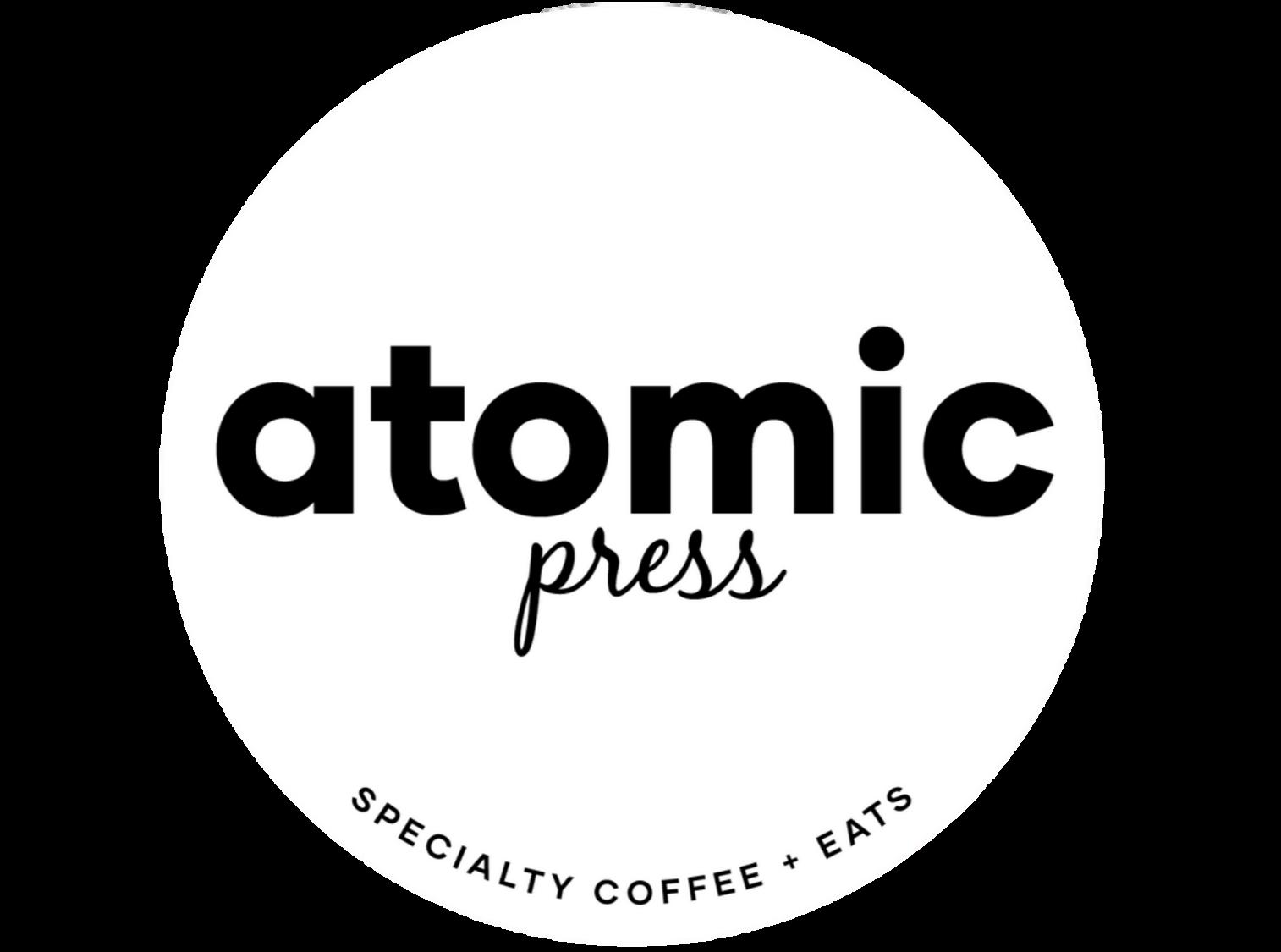 Atomic press logo