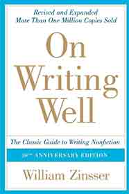 Book Cover: On writing well - The Classic Guide to Writing Nonfiction