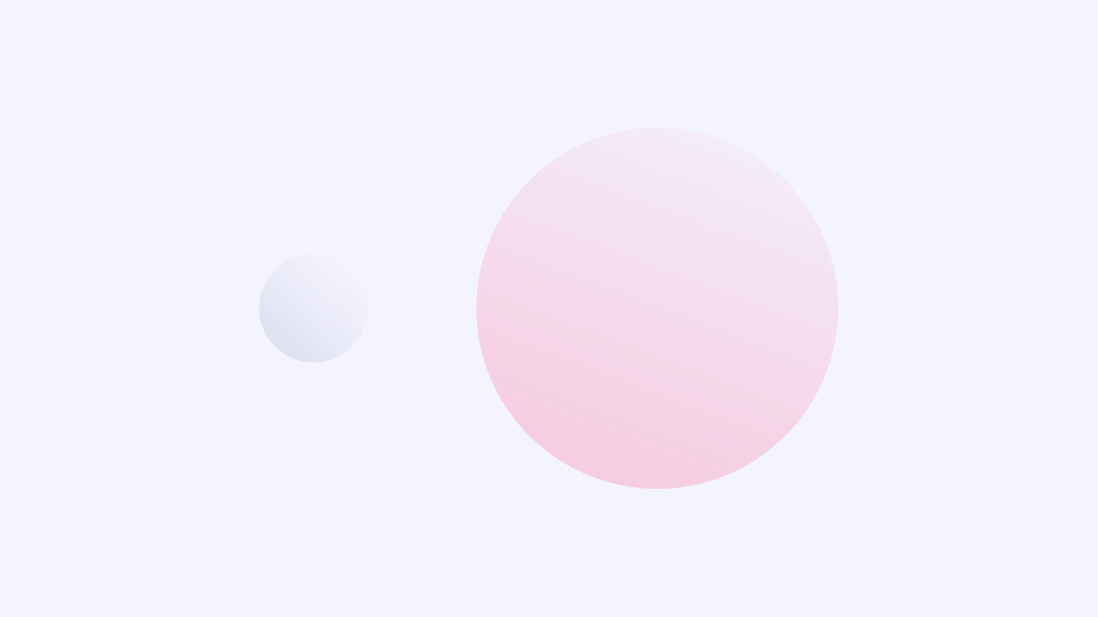 Here are two circles, a small one and a significantly larger one. You decide which generates more attention.