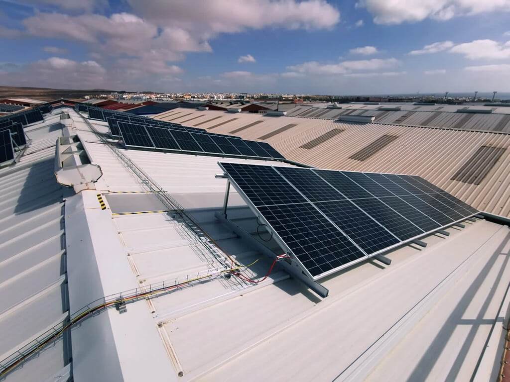 Instalación fotovoltaica en Fábrica Maxorata