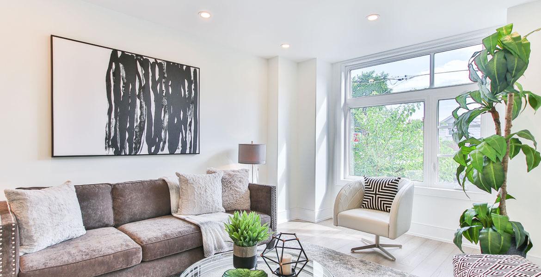 Iluminación led en interior de vivienda