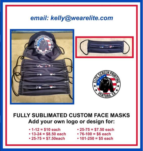 Custom Masks Ventura CA