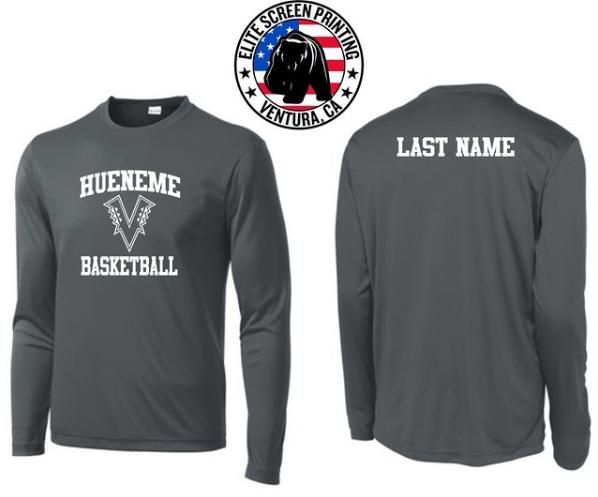 Custom Long Sleeve Basketball Shirt