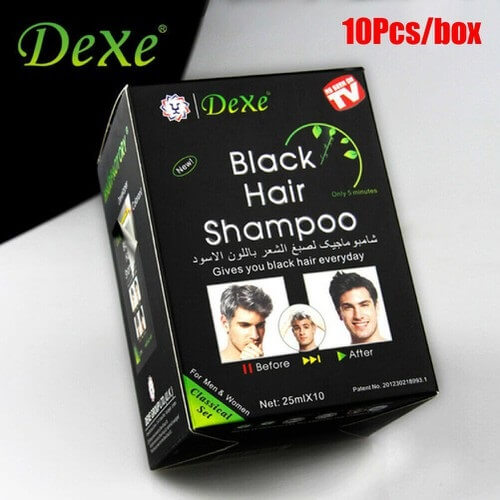 Dầu gội đen tóc thảo dược Dexe
