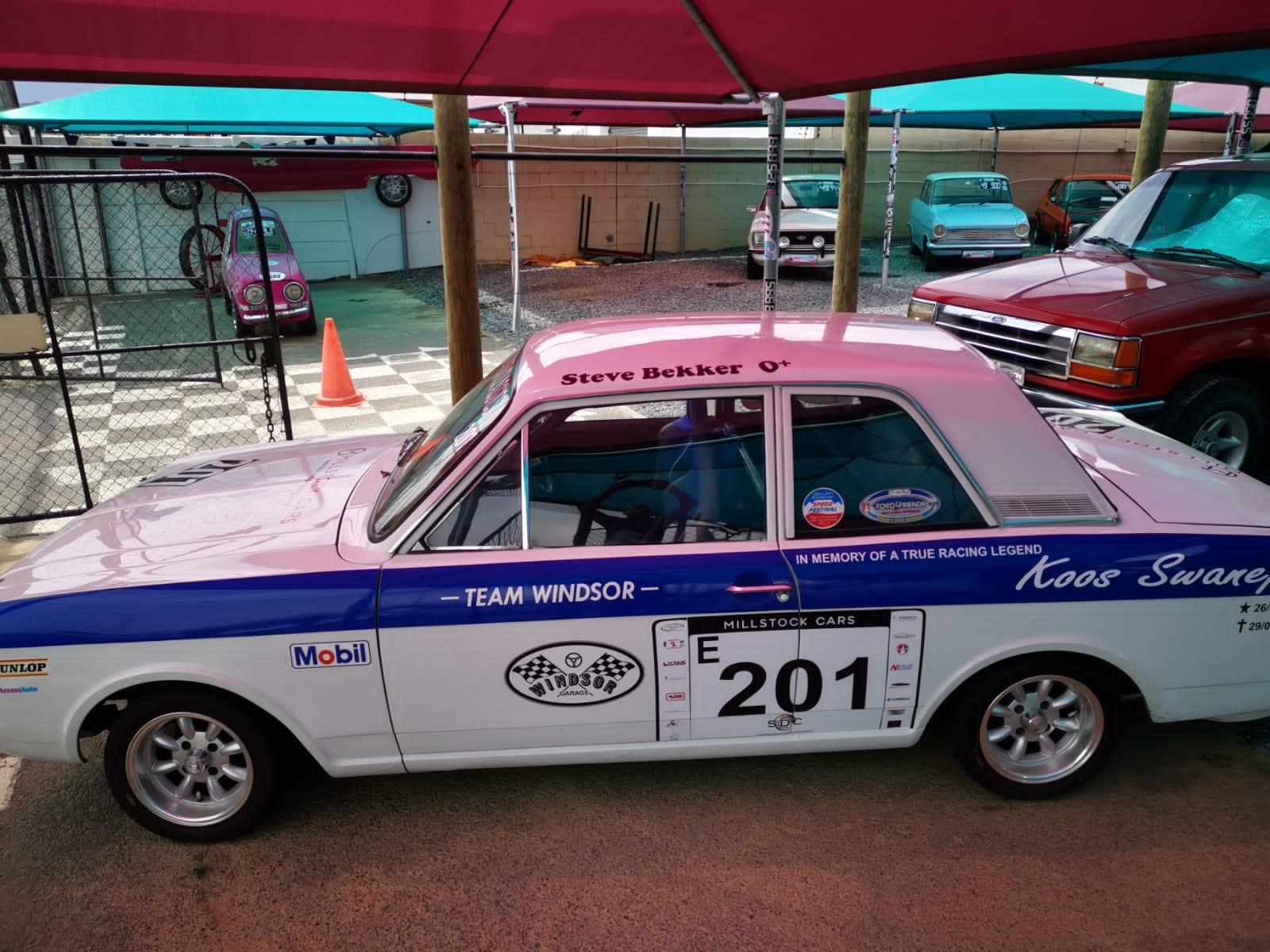 Cortina Mk II Racecar