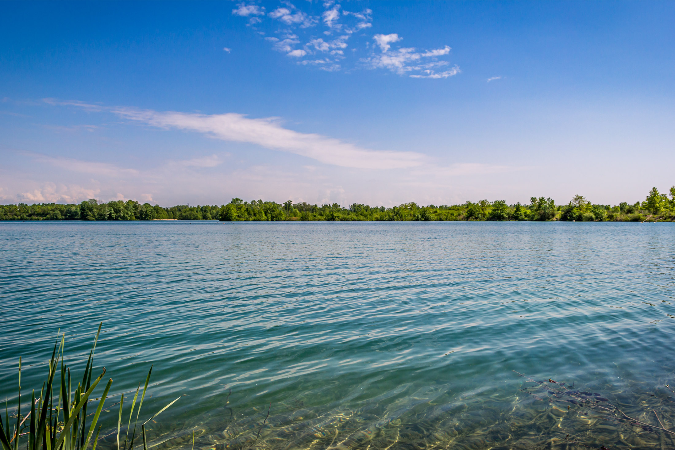 Lac Miribel Jonage