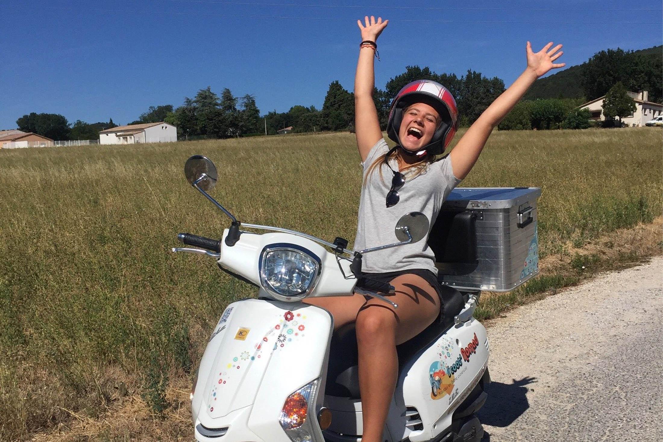 Sillonner la Drôme Provençale en deux-roues