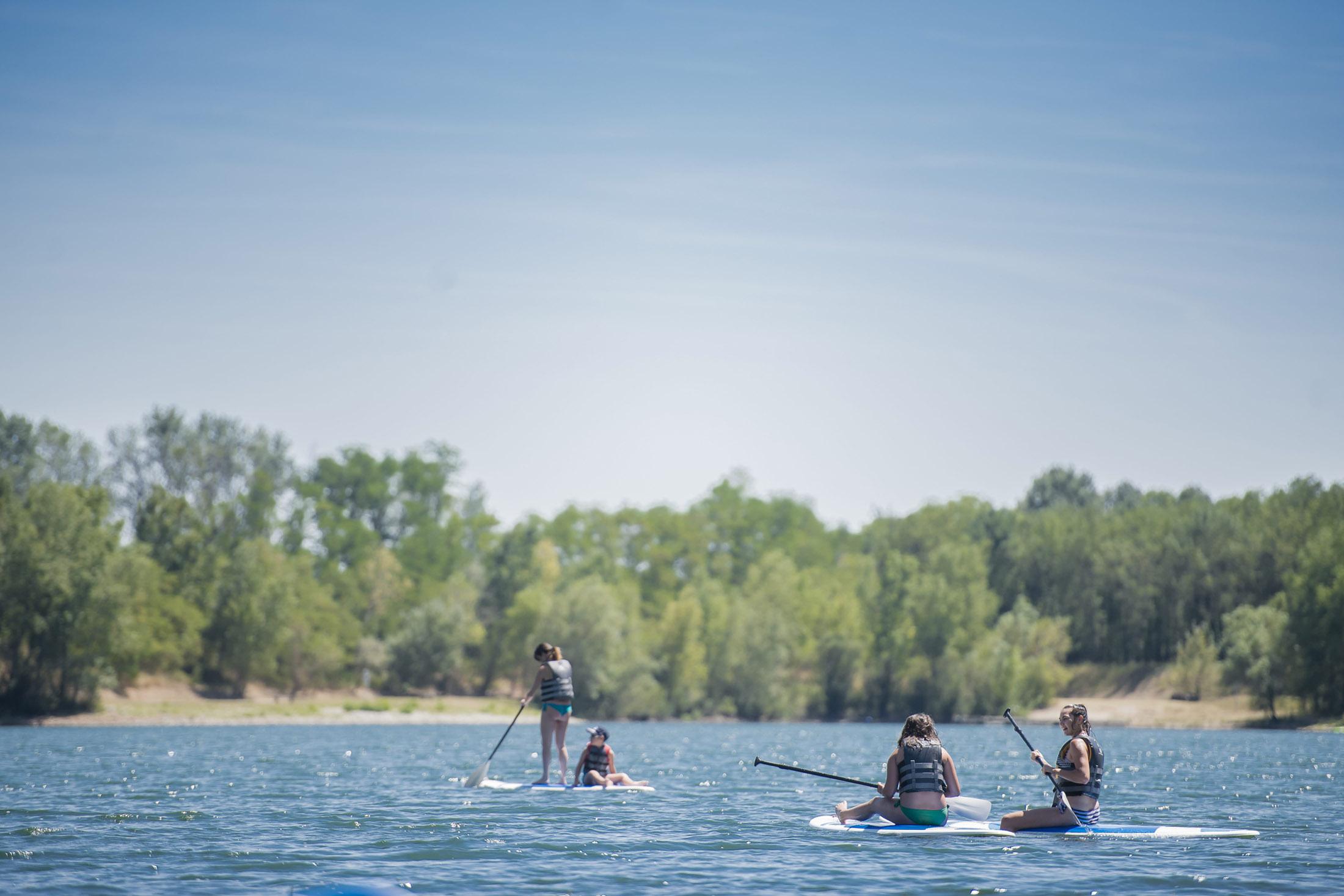 Etoile Park paddle