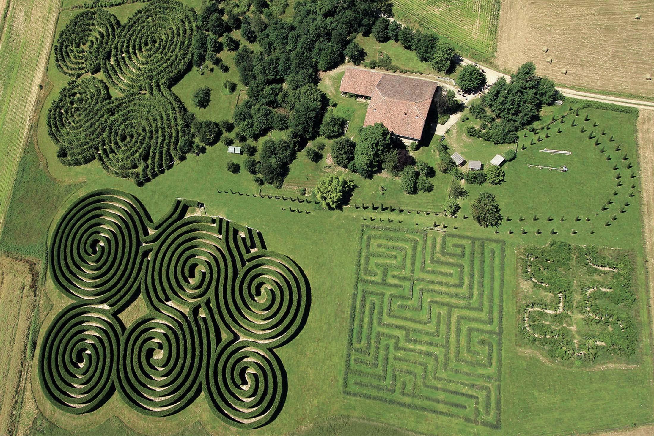 Labyrinthes de Hauterives