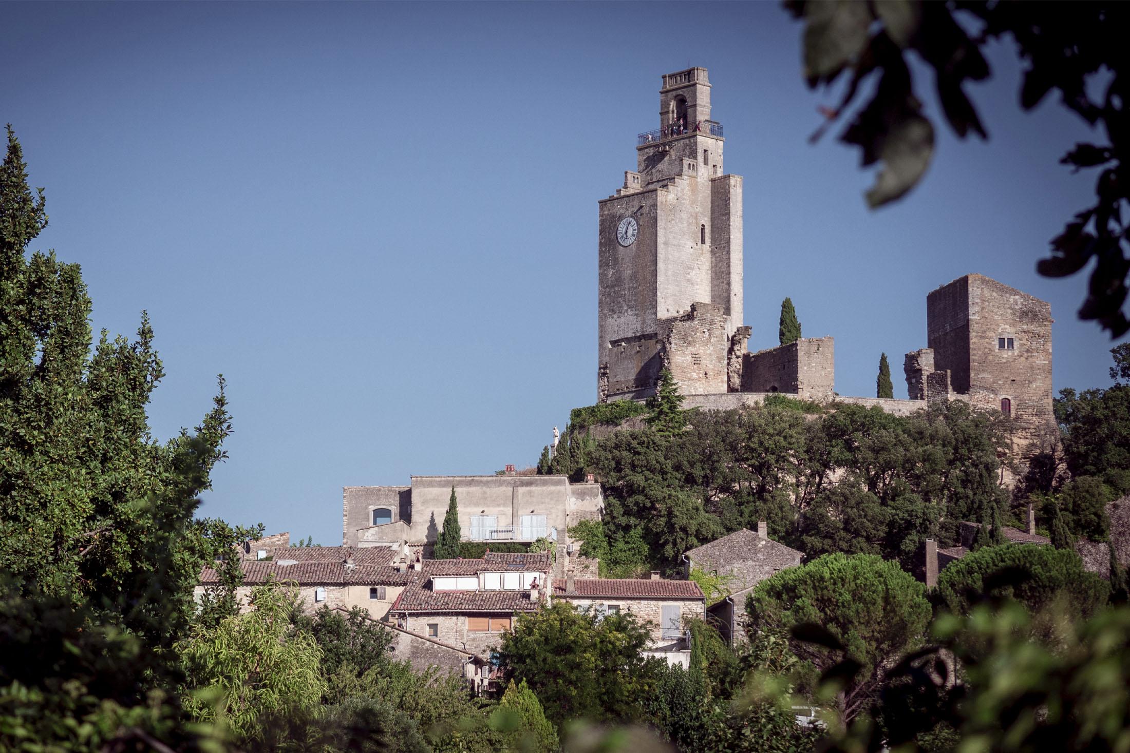 Village de Chamaret en Drôme Provençale