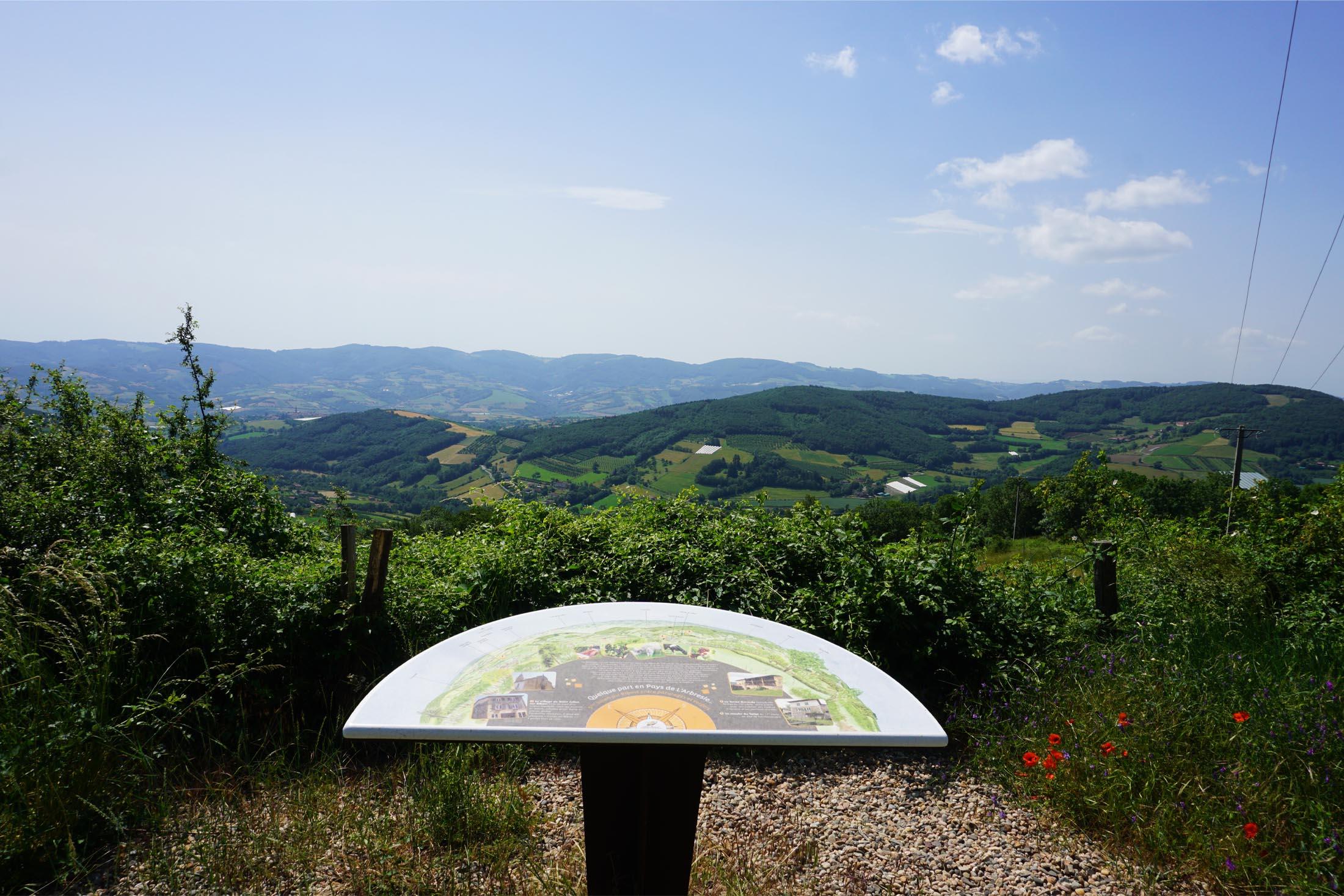 Point de vue Mont du Lyonnais
