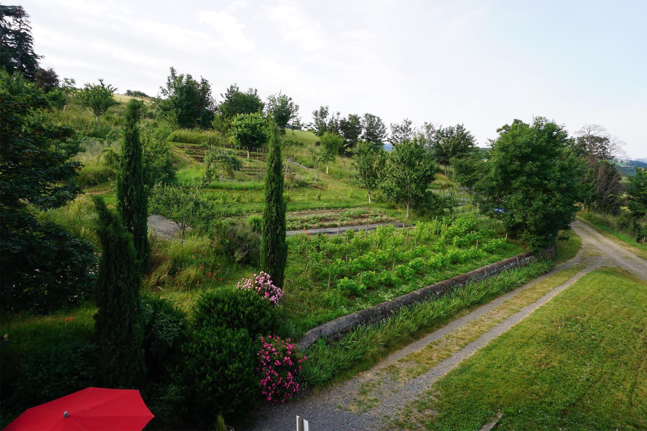 Jardin permaculture de la Source Dorée