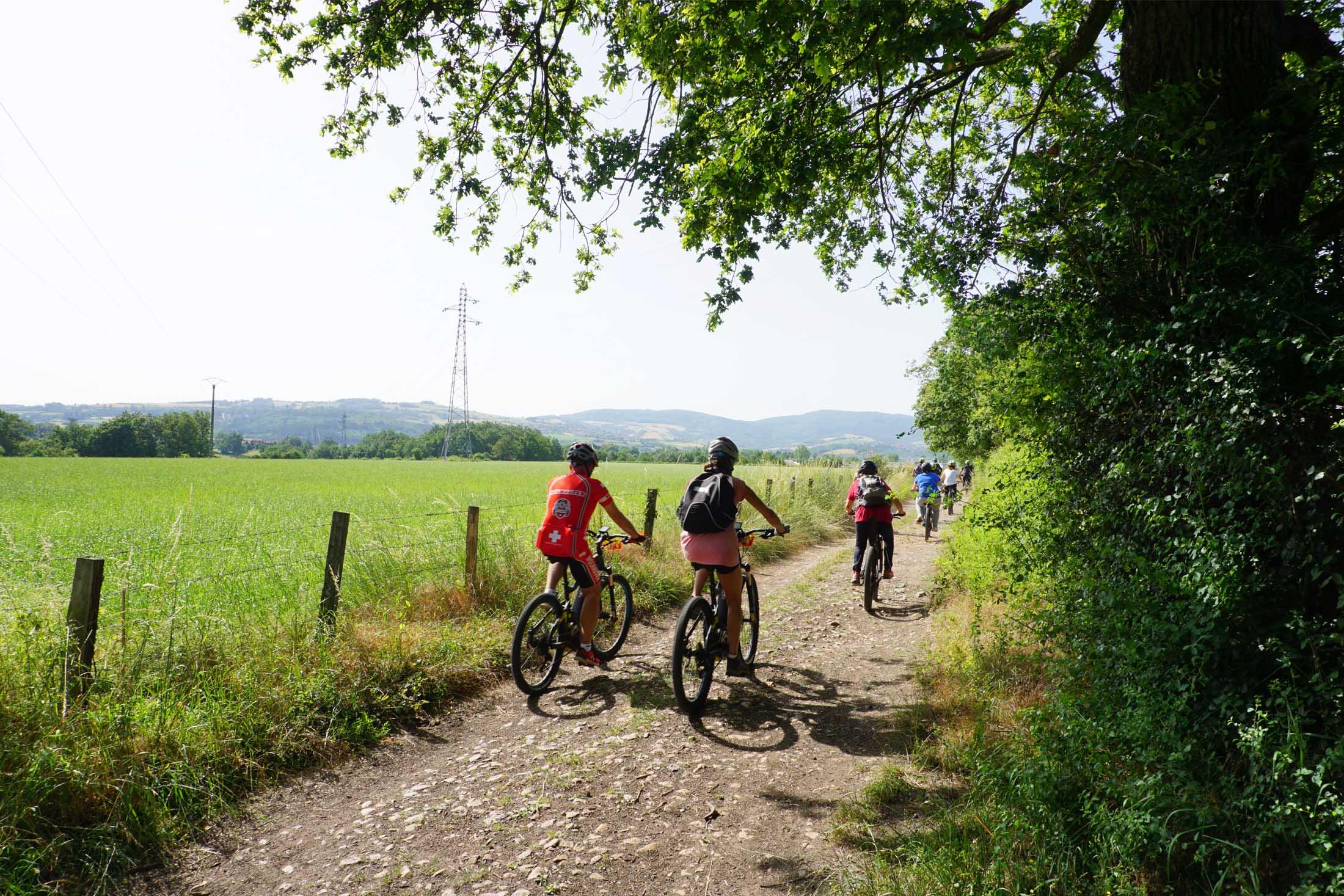 Balade en vélo au Pays de l'Arbresle