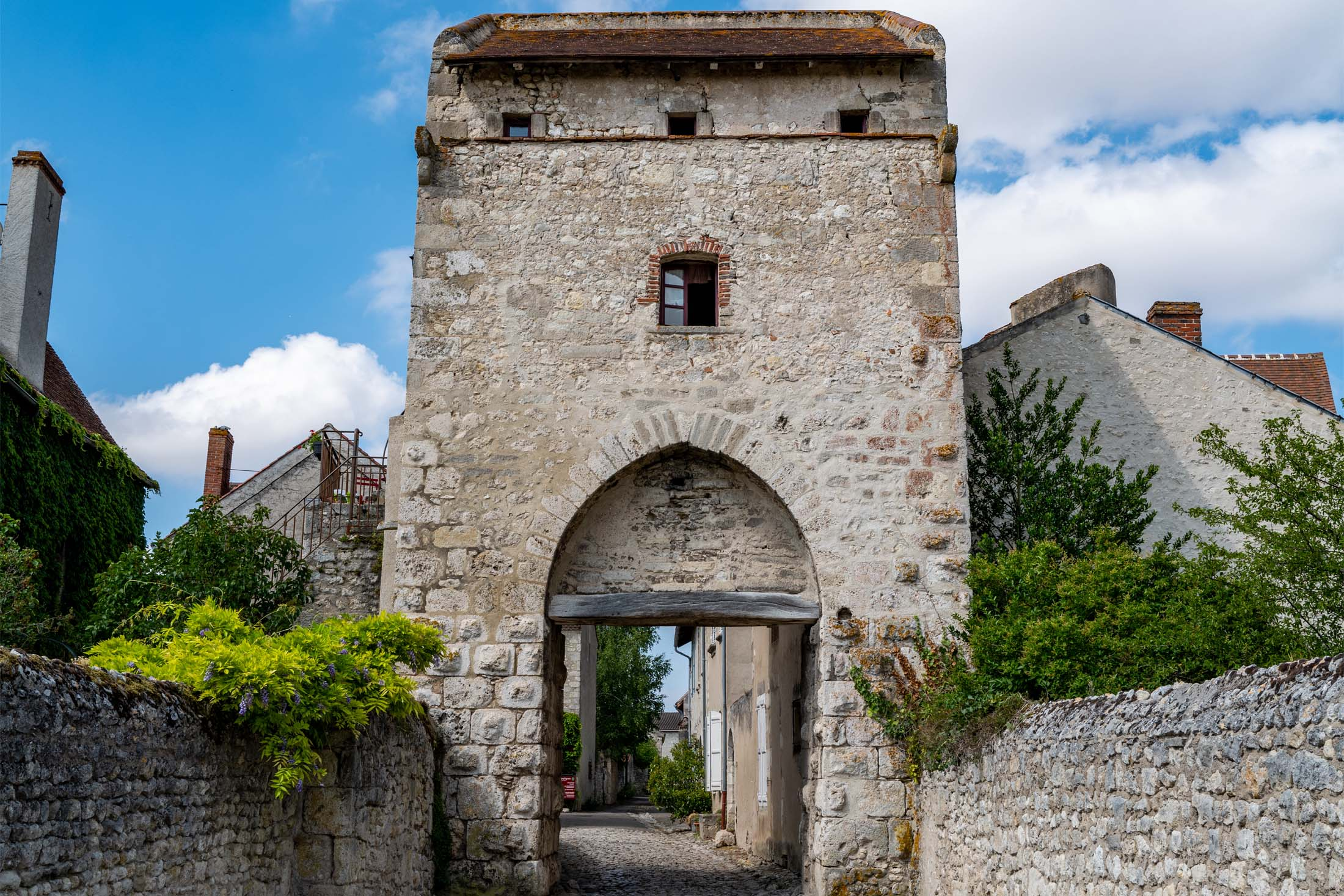Village de Charroux