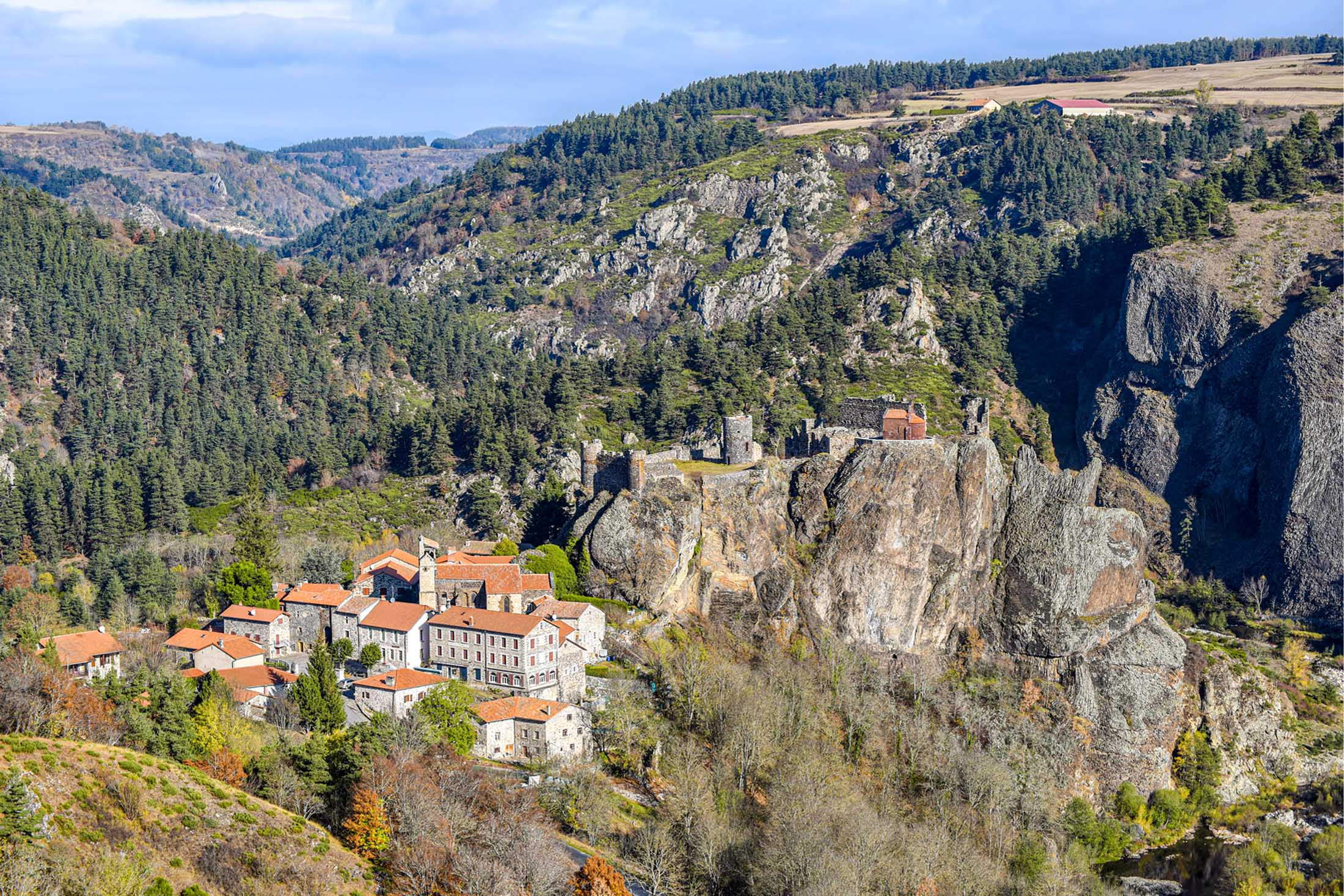Village d'Arlempdes