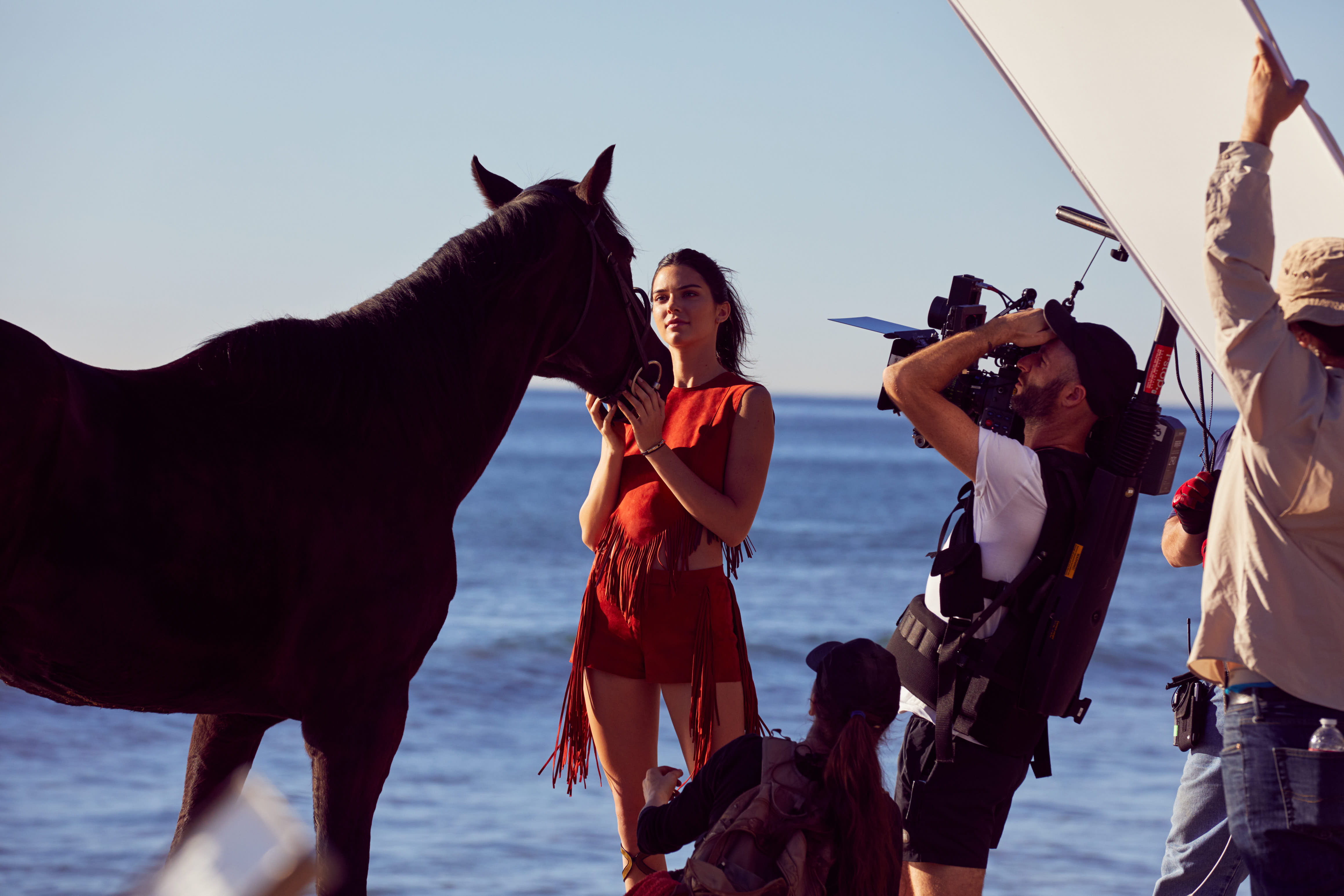 Longchamp The Ride with Kendall Jenner