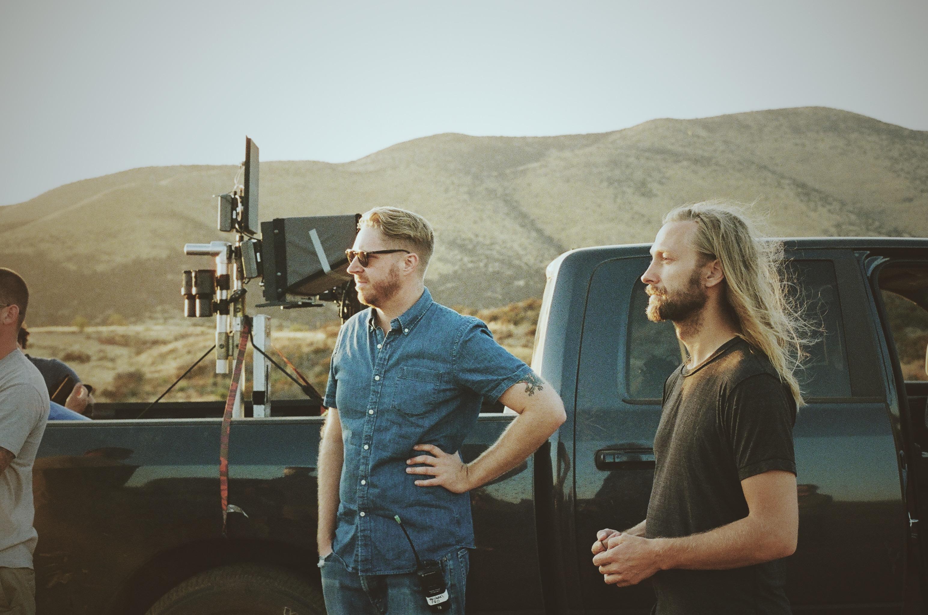 Director Benjamin Kutsko uses light drones in Australian band's, Pnau, music video.