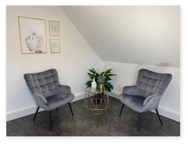 Ein Bild von dem Behandlungszimmer von ubuntu - dein Ort für inneren Frieden