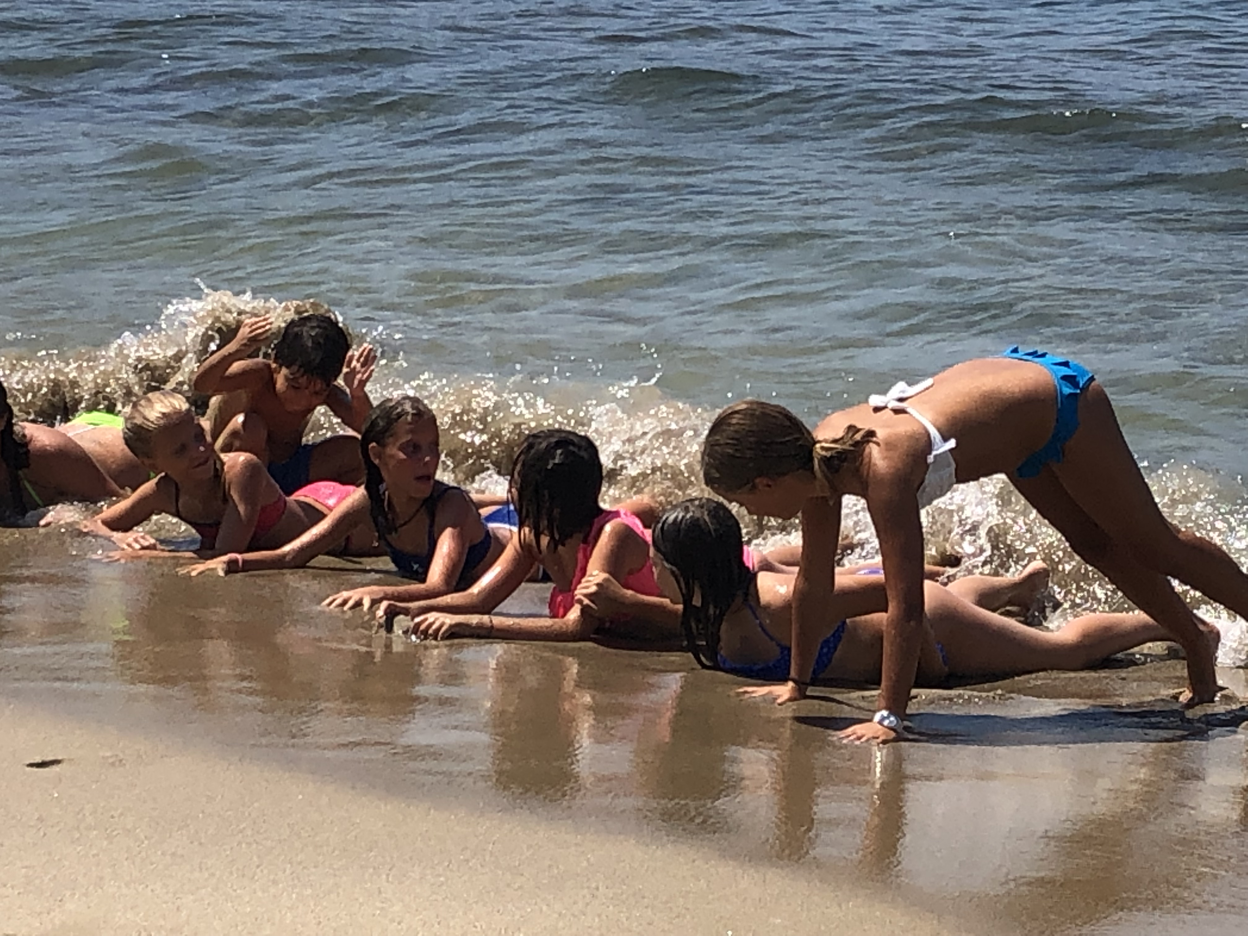 Lido Molpè ragazzi al mare