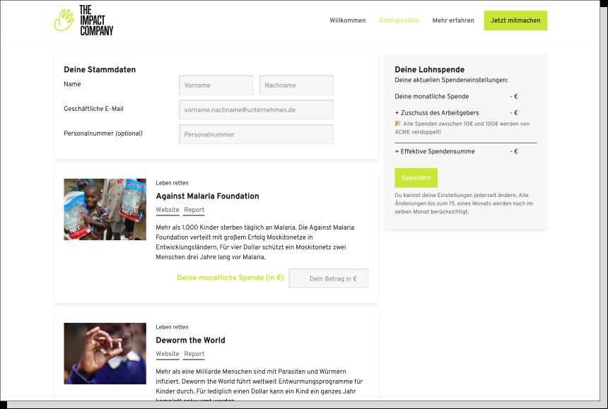 Social Impact Hub von The Impact Company