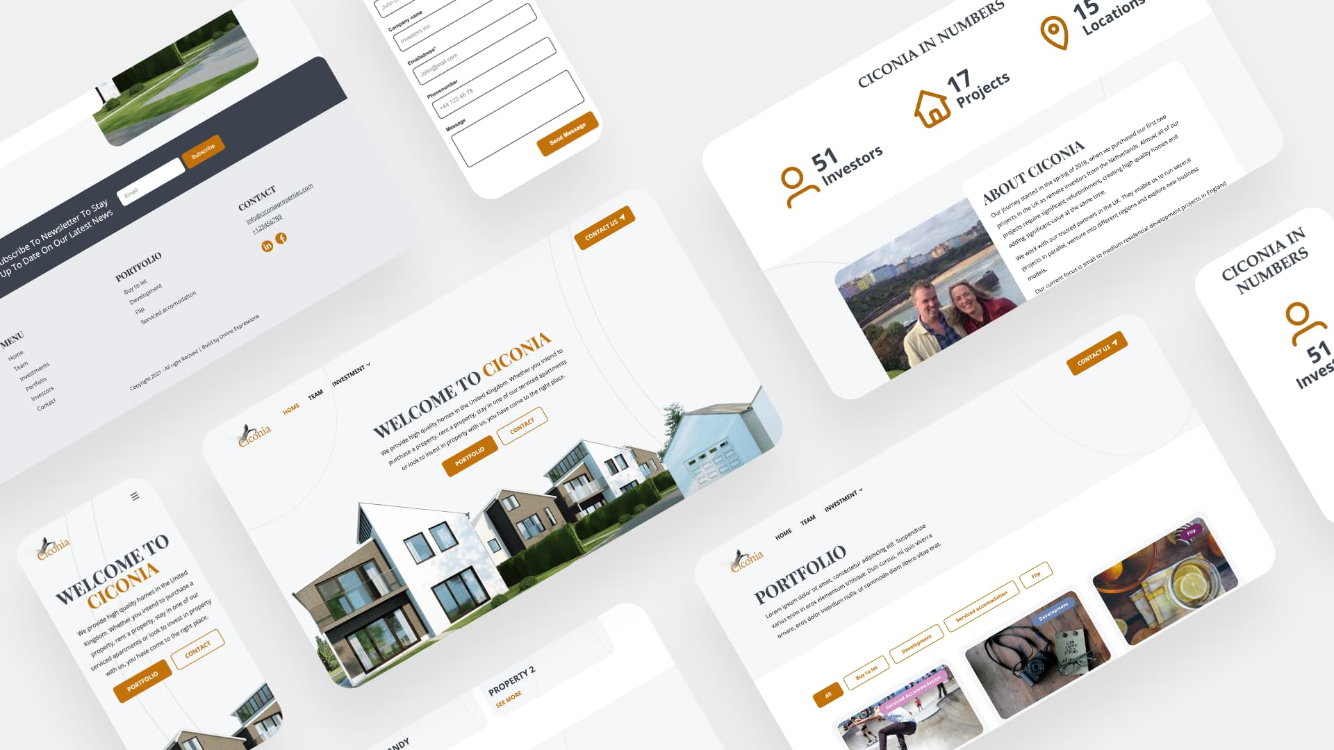 Website Ciconia Properties