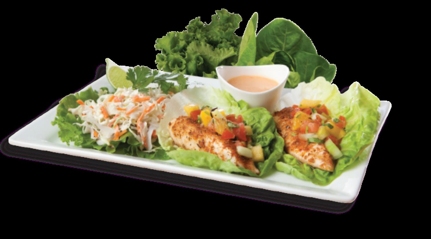 Fish & Salad Plate