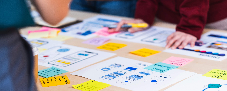 Parcours design project centré marque, branding et communication