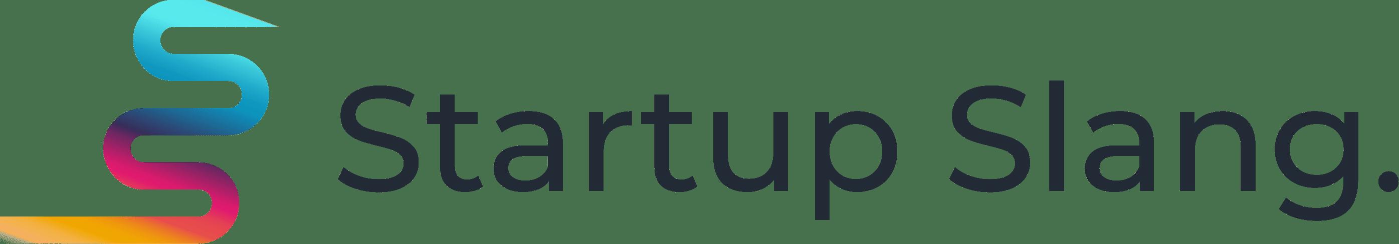 Startup Slang