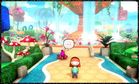 immersive educational virtual world