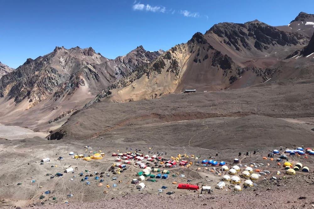 Camp de base Aconcagua - Argentine