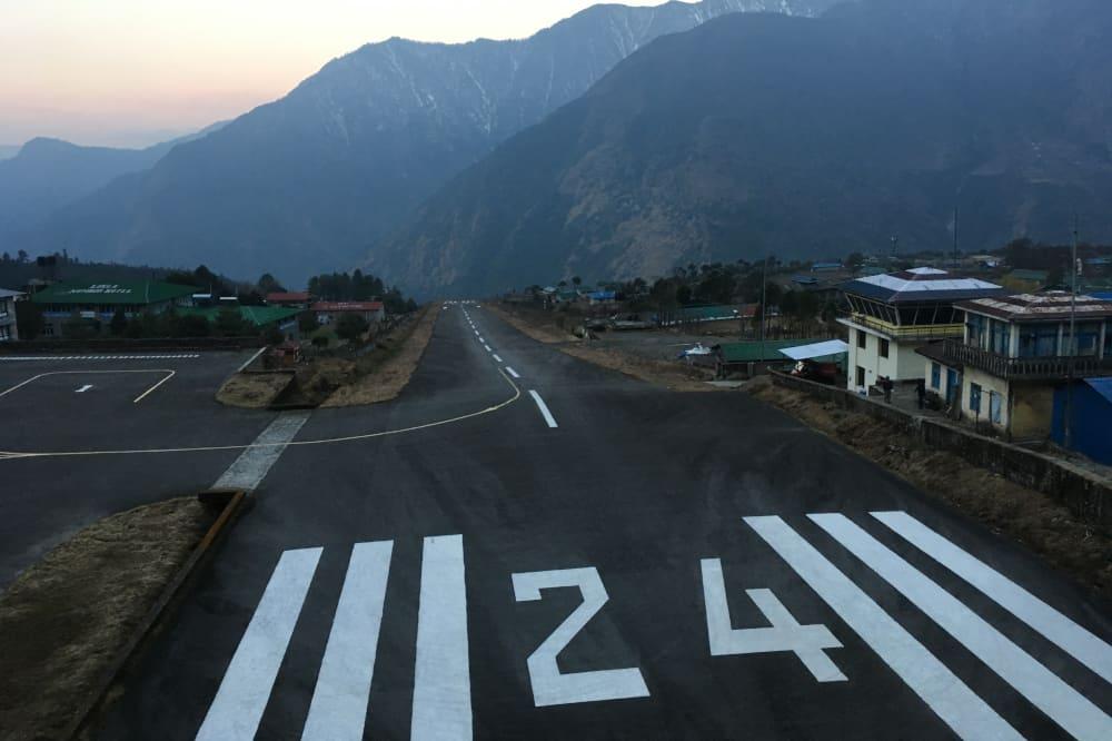 L'aéroport de Lukla